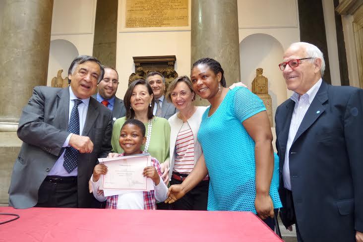 IL SUD DELL'INTEGRAZIONE. A Palermo cittadinanza onoraria a 52 bimbi stranieri
