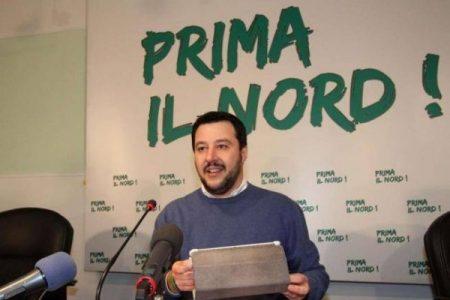 """Salvini, quello di """"prima il Nord…"""""""