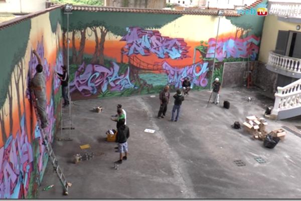 Napoli, 15 ragazzi e mille colori contro la camorra