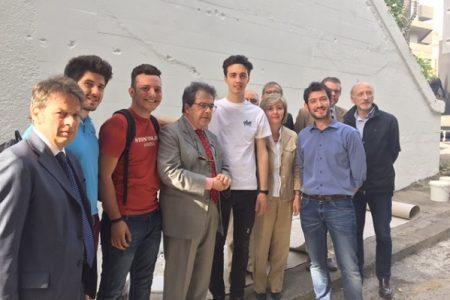 Catania, il sindaco incontra i ragazzi aggrediti mentre realizzavano un murale su Impastato