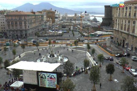 Piazza Municipio, il progetto della discordia
