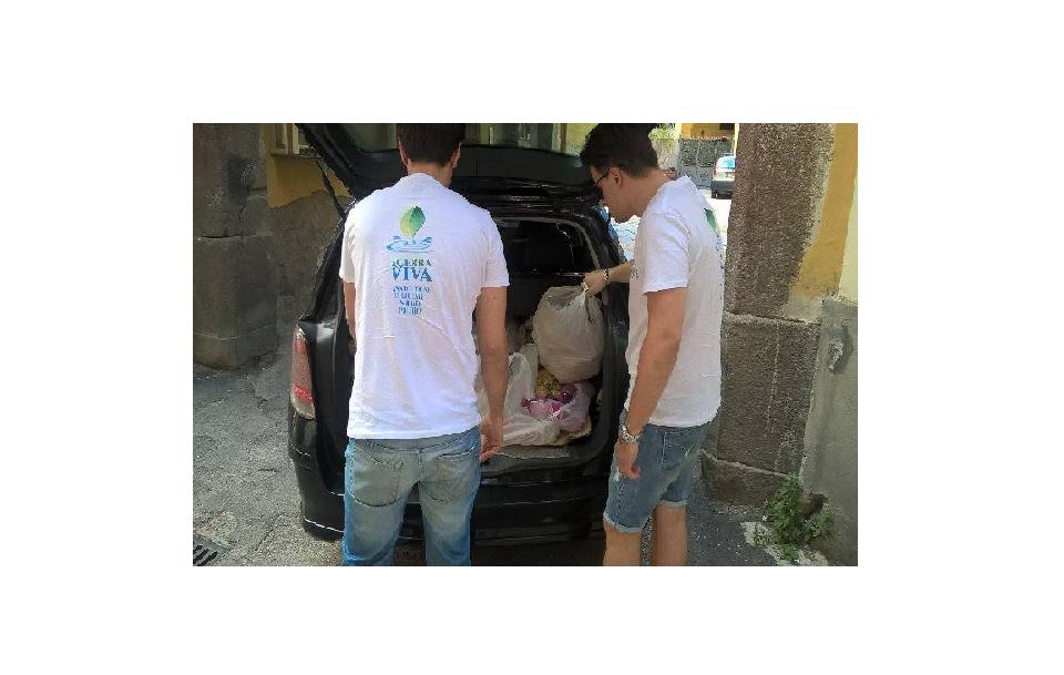 Acerra, il banco alimentare per i cittadini in difficoltà economiche
