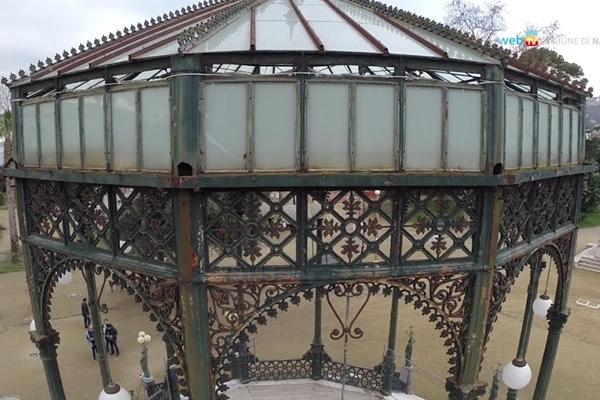 I gioielli di Napoli da ritrovare, al via il restauro della cassa armonica in Villa Comunale
