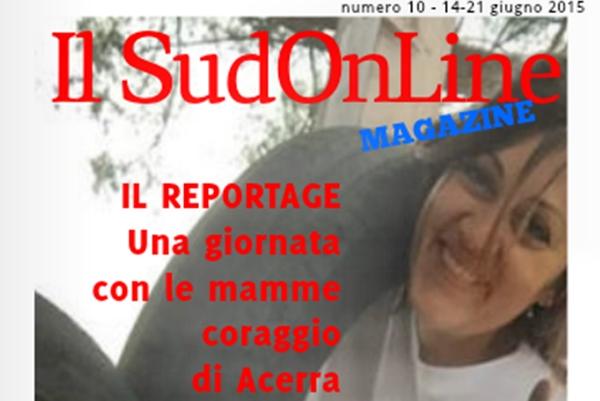 10 – IL SUD ON LINE MAGAZINE – Una giornata con le mamme coraggio di Acerra – Quindici domande per Renzi – Il giallo di Leopardi