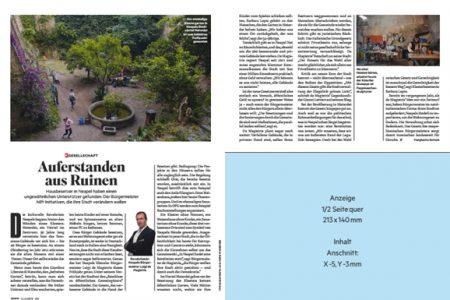 """de Magistris al settimanale tedesco Stern: """"Siamo usciti dalle rovine"""""""