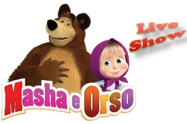 Masha e Orso Live Show, il cartone animato diventa un musical e sbarca a Napoli