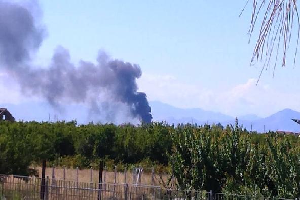 Incendio nella ex discarica  Resit, il sito posto sotto sequestro dalla magistratura