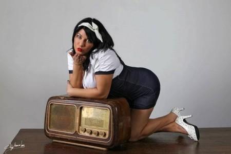 Indya Perri, incantevole fotomodella curvy