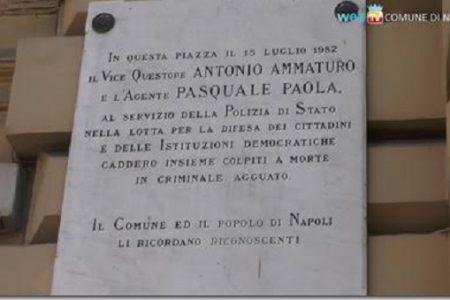 Gli eroi del Sud: in ricordo di Antonio Ammaturo e Pasquale Paola