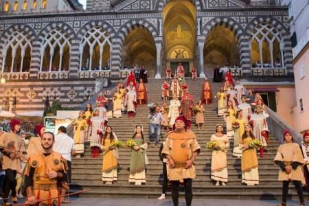 Con il Capodanno Bizantino ad Amalfi si riscoprono le tradizioni