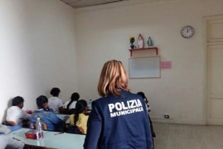 Una scuola srilankese abusiva nel cuore di Napoli