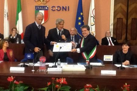 E' ufficiale, Catania concorre come Città europea dello Sport