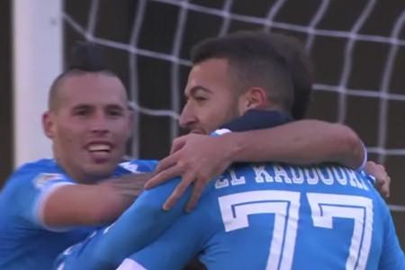 Sarri, altro che Benitez: gli highlights della coppia del gol del Napoli a Verona
