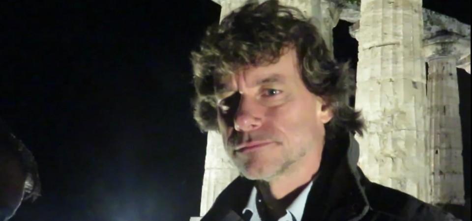 Le ultime ore di Pompei, la lezione di Alberto Angela a Paestum