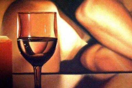Beyond the frame mostra di pittura Napoli Kosma Damiano Durante