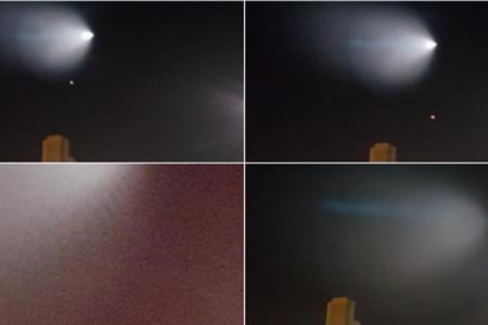 Ufo nei cieli della California? Ecco il video