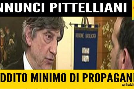 Il 'Reddito minimo di propaganda' targato Marcello Pittella