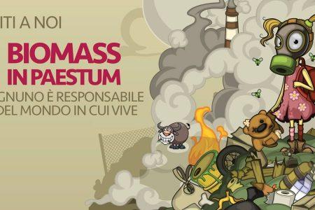 No alla centrale a biomasse a Paestum