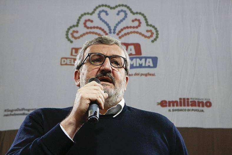 Emiliano accusa: Pd non compatto sul problema del sindaco di Brindisi arrestato