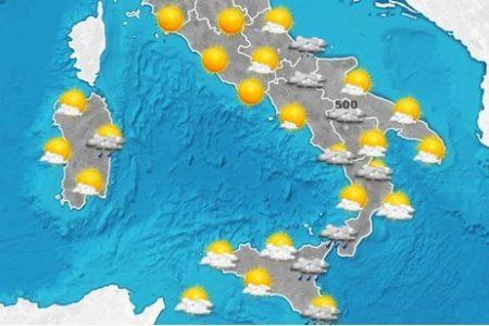 MeteoSud, acquazzoni sparsi su Puglia, Calabria e Sicilia