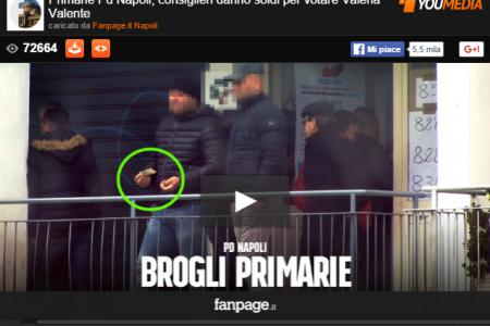 Primarie, lo scandalo dei voti comprati a Napoli: ecco il video