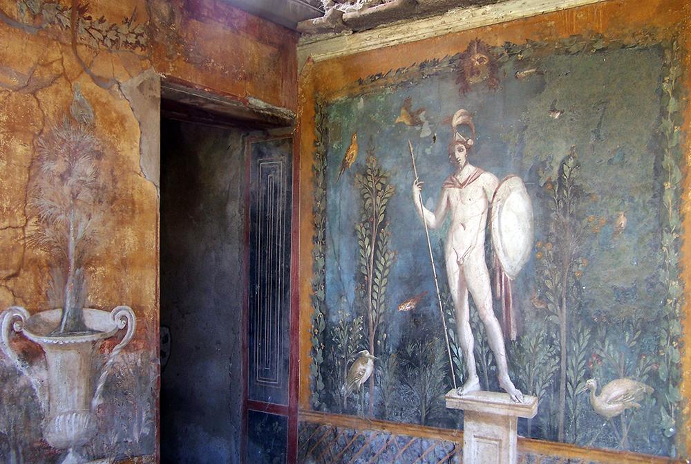 Le Eccellenze Del Sud Le Pitture Murali Di Pompei