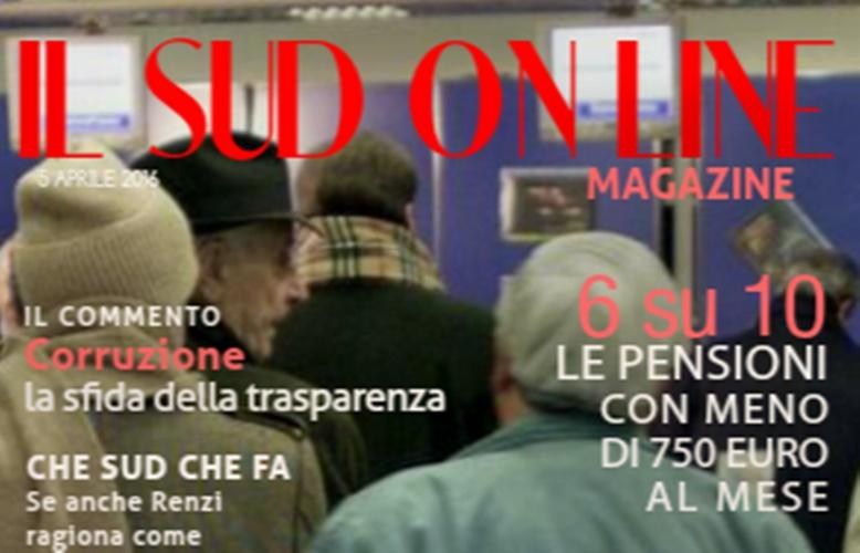 13 – Il Sud On Line Magazine – Sud, pensioni e fisco: l'Italia che non va