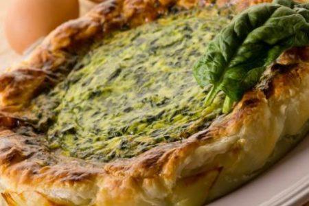 I sapori delle scampagnate, Torta salata di pane e spinaci