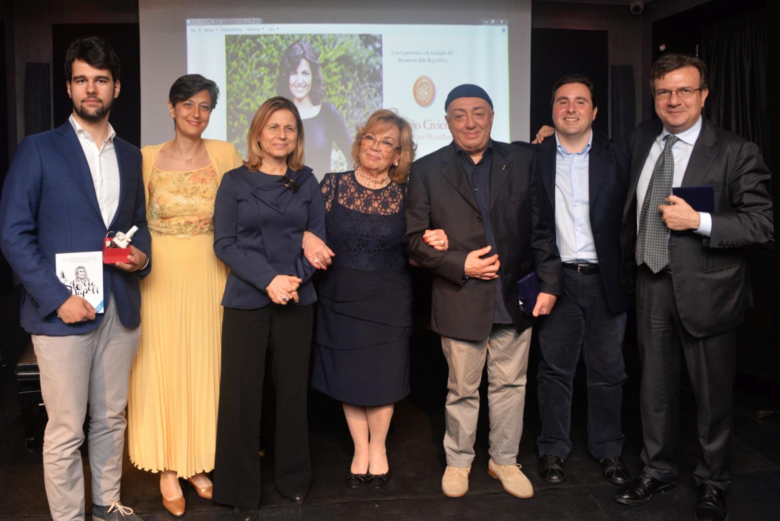 Napoli per l'eccellenza 2016 – Civicrazia, ecco tutti i premiati