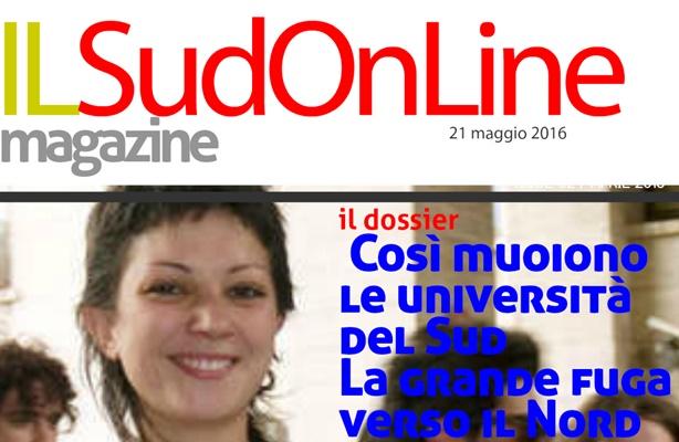 Il Sud On Line Magazine – L'inchiesta. Così muoiono le università del Sud – L'intervista. Lo Cicero: Cosa non va nel masterplan di Renzi