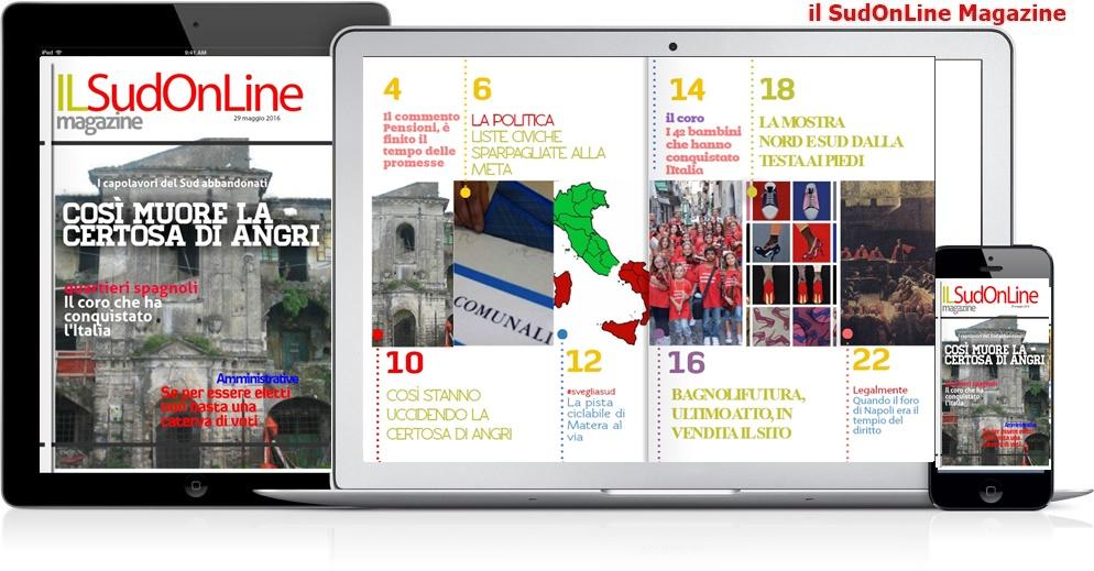 Il Sud On Line Magazine – 21 – Così muore la Certosa di Angri – Avvocati, quando Napoli era il tempio del diritto