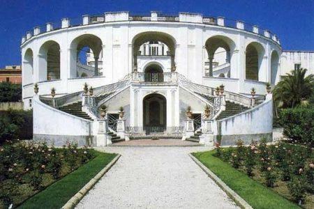 Ville Vesuviane: venerdì 10 giugno riapre dopo i restauri la Villa Campolieto di Ercolano (Napoli), gioiello del Vanvitelli.