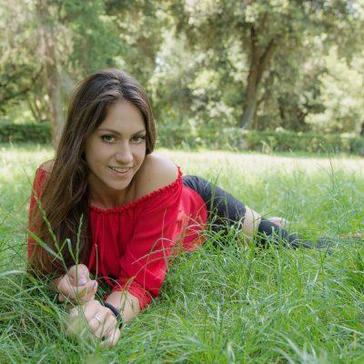 Monica Ciocca, la bellezza di una teenager fotomodella romana