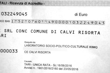 """La stangata della """"Tari"""": 500 euro per l'associazione culturale di Calvi Risorta"""
