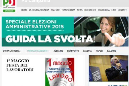 Napoli, amministrative 2016. Il PD sconfitto al primo turno (anche sul web)