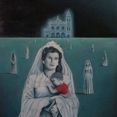 Vergine sposa: il dipinto di Roberto Mendicino apre le porte ad un possibile nuovo culto mariano