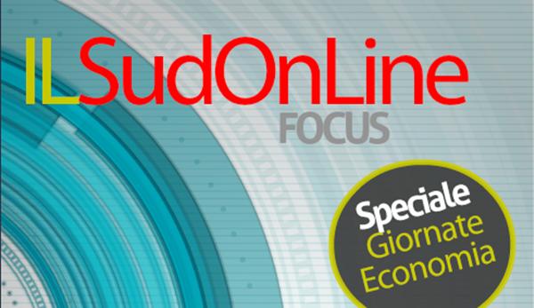 """IL SUD ON LINE DI MAGAZINE – Numero speciale sulle Giornate dell'Economia: il rapporto """"la virgola di Ponente"""""""