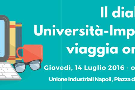 Unione industriali Napoli: il dialogo Università-Imprese viaggia on line