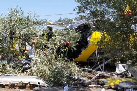 Il drone sopra i rottami, le immagini choc della tragedia in Puglia