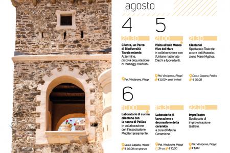 Festival della Dieta mediterranea di Pioppi: dibattiti, laboratori e teatro