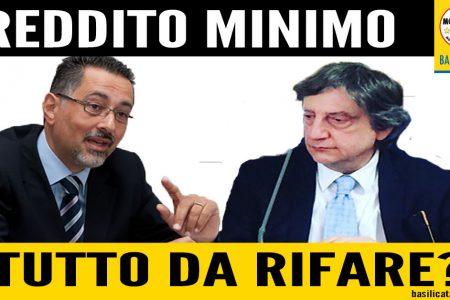 Reddito Minimo, il pasticcio è servito: Pittella starebbe pensando ad un nuovo bando.