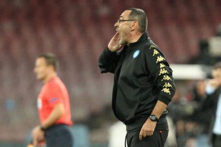 """Il Napoli bloccato sul pari dalla Dinamo Kev. Sarri: """"Non cambia nulla"""""""