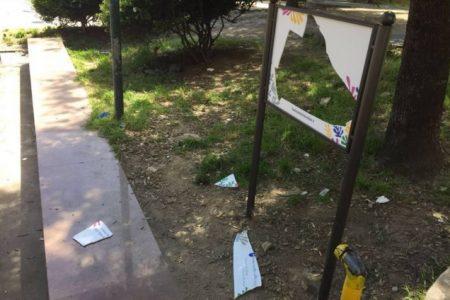 Distrutta la targa che ricorda Silvia Ruotolo, la Commissione Antimafia: atto vile