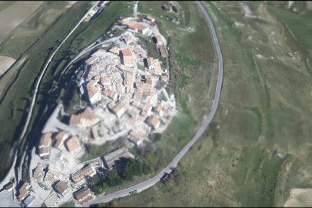 Terremoto, il suolo si è abbassato di 70 centimetri