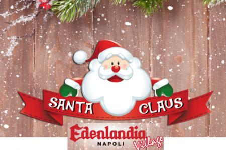 Napoli, apre Edenlandia: il quartier generale di Santa Claus