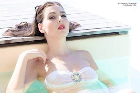 """Anna Gale, modella freelancer: """"Voglio laurearmi e andare all'estero"""""""