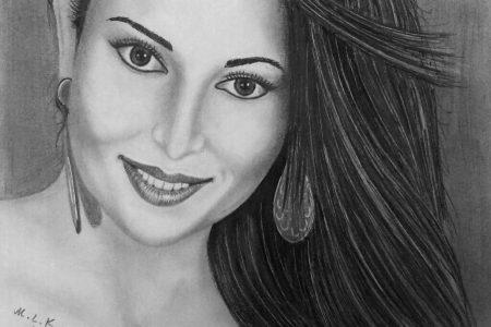 Lidia Laudani, meravigliosa modella che incanta  fotografi e pittori