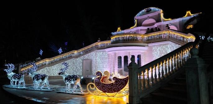 Apre in provincia di Caserta il più grande Christmas Park d'Italia