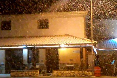 Neve in Sicilia, imbiancata anche Palermo
