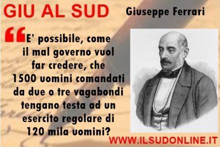 L'impresa di Garibaldi, i dubbi del filosofo Giuseppe Ferrari